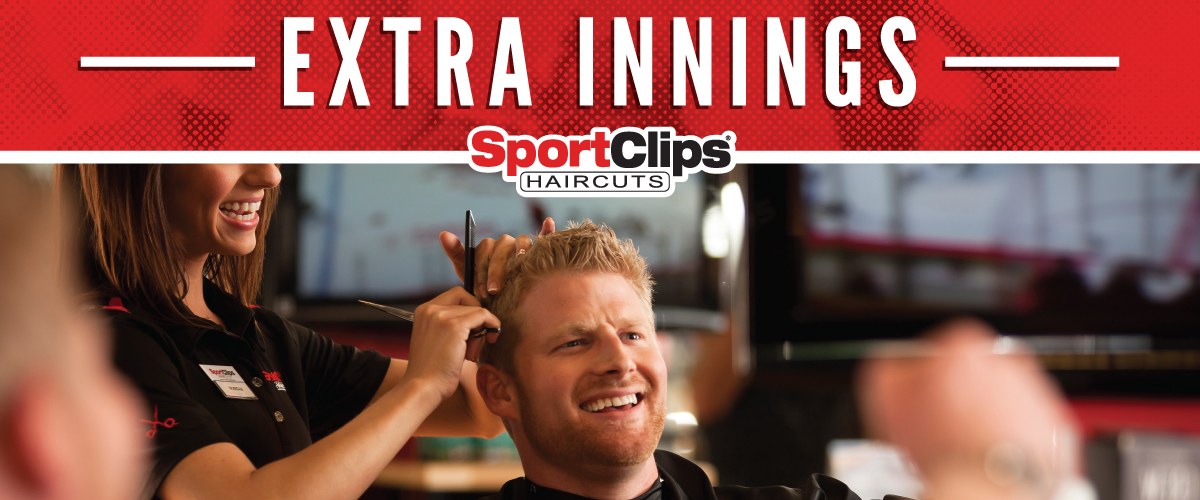 The Sport Clips Haircuts of Santee Extra Innings Offerings